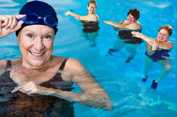 Image result for Go Swimming in arthritis